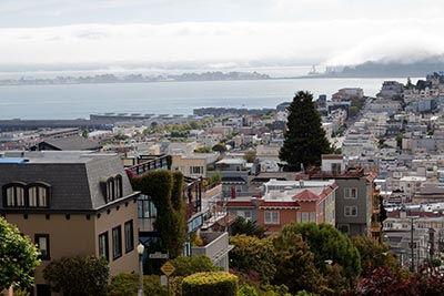 San Francisco's Russian Hill neighborhood