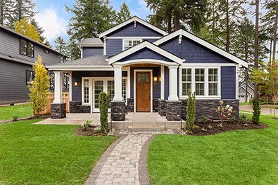 A home with curb appeal