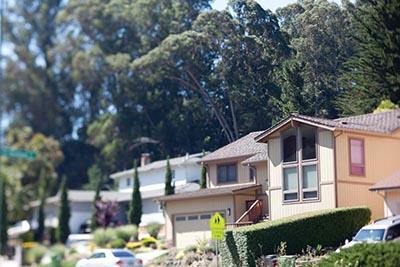 A home in Oakland, California