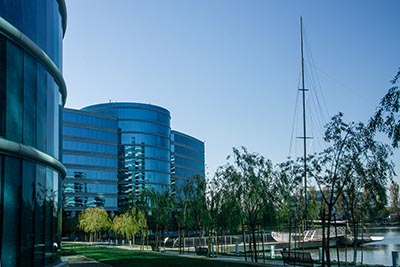 Oracle's headquarters in Redwood City, California