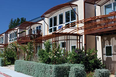 Townhomes in Sebastopol, California