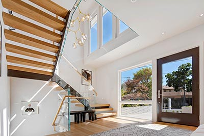 Interior of a home in Palo Alto, California